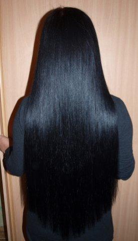 наращивание волос 70см