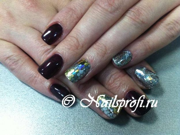 Minx покрытие ногтей