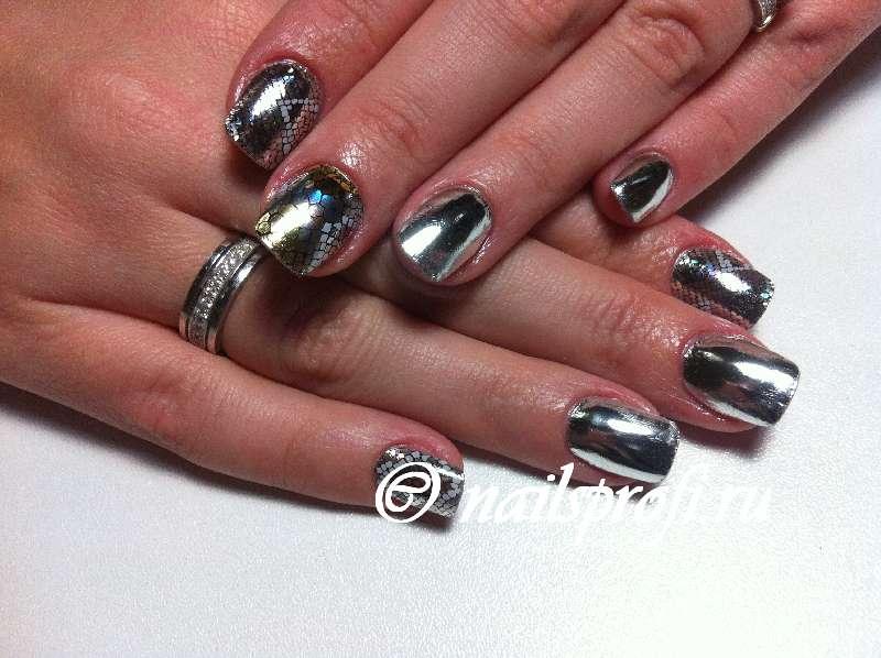 MINX покрытие для коротких ногтей
