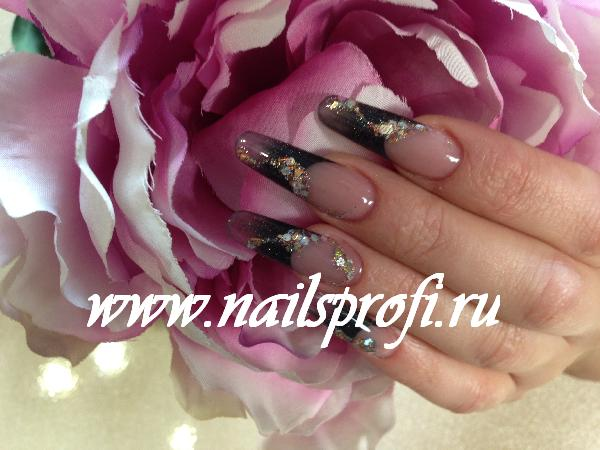 Наращивание ногтей в студии красоты NailsProfi