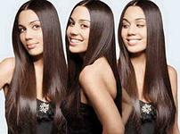 Выпрямление волос 2