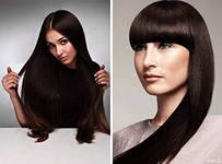 Выпрямление волос 3