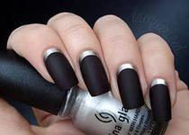 Черно-белый френч 5