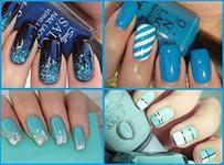 Дизайн ногтей осень 02
