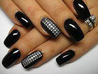 Дизайн ногтей осень 05