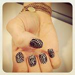 Дизайн ногтей осень 09
