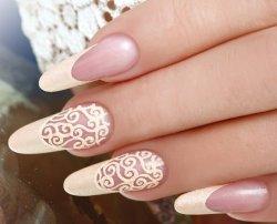 Дизайн ногтей барокко 1