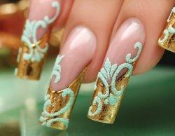 Дизайн ногтей барокко 2
