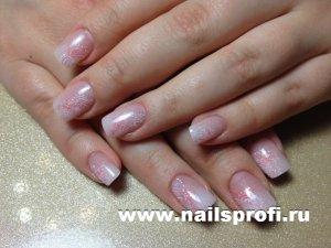 Классическое наращинвание ногтей 5