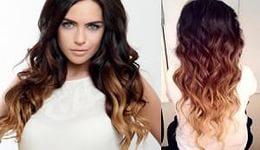 Окрашивание волос омбре 8