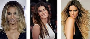 Окрашивание волос омбре 10