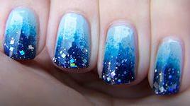 Дизайн ногтей северное сияние 5