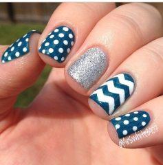 Дизайн для коротких ногтей 4