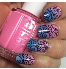 Дизайн для коротких ногтей 5