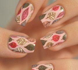Дизайн для коротких ногтей 6