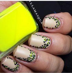 Дизайн для коротких ногтей 11