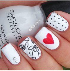 Дизайн для коротких ногтей 15