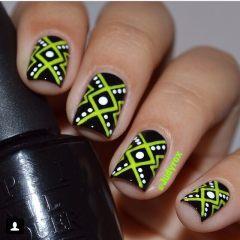 Дизайн для коротких ногтей 17