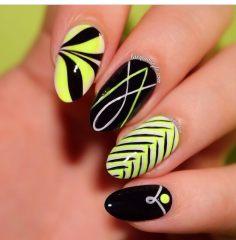 Дизайн для коротких ногтей 19