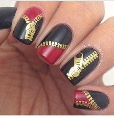 Дизайн для коротких ногтей 22