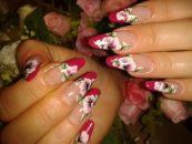 Стильный дизайн для нарощенных ногтей 13