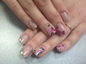 Стильный дизайн для нарощенных ногтей 16