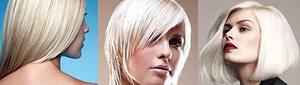 Блондирование волос MATRIX 3