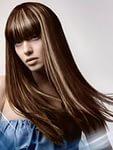 Частичное мелирование волос 1