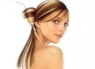 Частичное мелирование волос 4