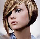 Частичное мелирование волос 6