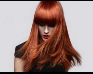 Окрашивание волос в один тон 1