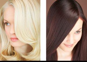 Окрашивание волос в один тон 4