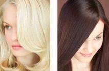 Окрашивание волос в один тон 03