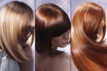Окрашивание волос в один тон 09