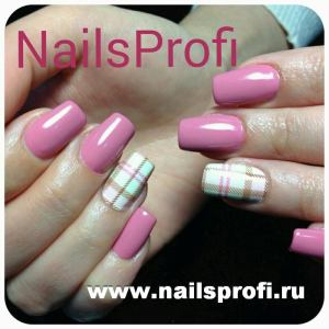 Розовый френч 3