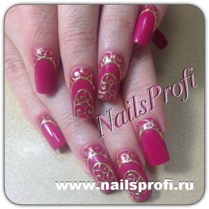 Розовый френч 6