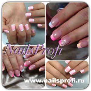 Розовый френч 8