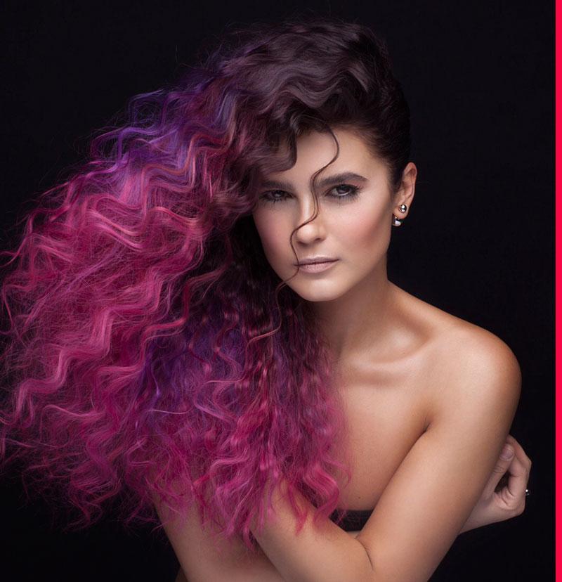 Окрашивание волос «matrix»