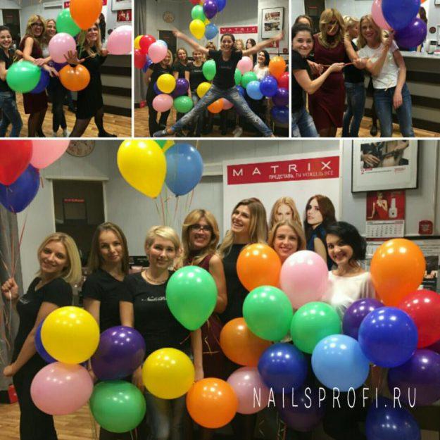 Поздравления клиентов NailsProfi с 5-тилетним юбилеем салона