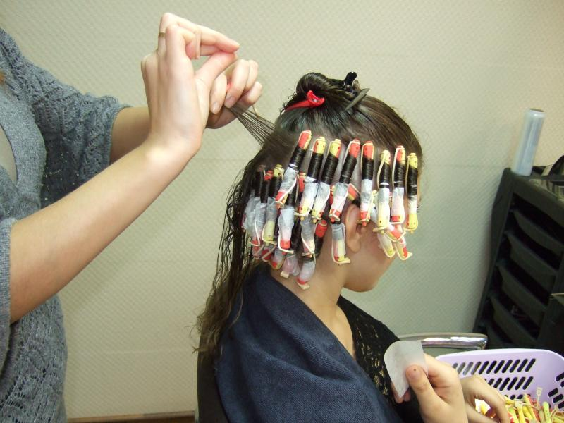 Процесс молекулярного моделирования волос