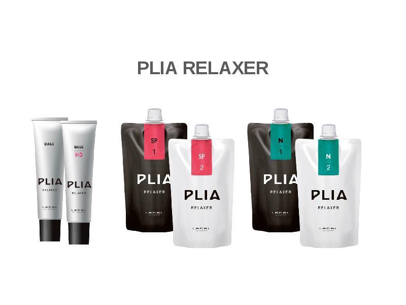 Lebel Plia Relaxer набор